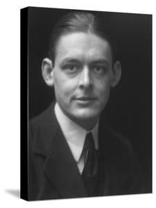 Portrait of Writer T. S. Eliot, 1888-1965 by Emil Otto Hoppé