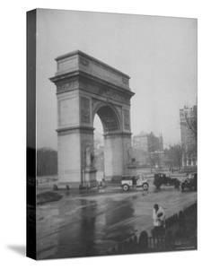 Washington Square Arch Designed by Stanford White, Washington Square Park, Greenwich Village, NYC by Emil Otto Hoppé