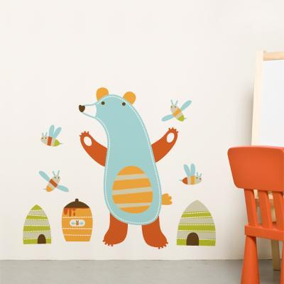 Emil the bear Wall Decal--Wall Decal
