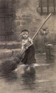Cosette by Emile Antoine Bayard