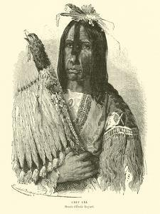 Cree Chief by Emile Antoine Bayard