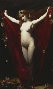 Spring by Emile Auguste Carolus-Duran