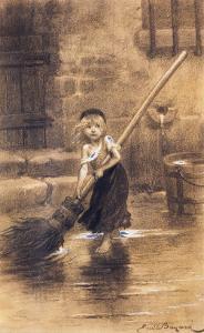 Cosette by Emile Bayard