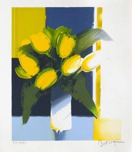 Bouquet de Fleurs Jaunes by Emile Bellet