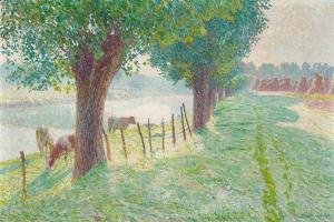 End of August, 1909 by Emile Claus