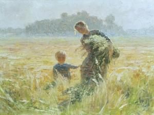 In Flanders by Emile Claus