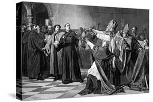 Luther at the Diet of Worms, 1882 by Emile Delperee