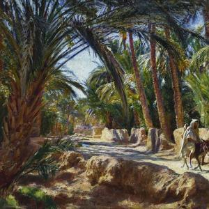 On the Road to Biskra by Emile Friant