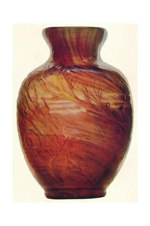 Glass Vase by E. Galle, c1846-1903, (1903)