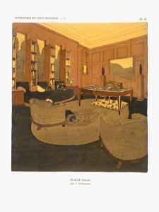 Bureau-Salon, 1929 by Emile Jacques Ruhlmann
