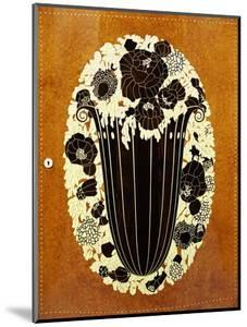 "Detail of ""Etat d'Angle"", an Ivory and Ebony Inlaid Amboyna Encoignure, 1916 by Emile Jacques Ruhlmann"