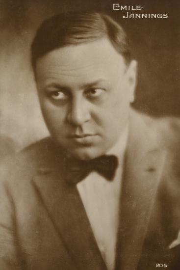 Emile Jannings--Photographic Print