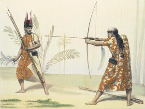 Indios Yuracares from Voyage Pittoresque Dans Les Deux Amriques by Alcide Dessaline D'Orbigny by Emile Lassalle