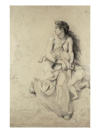 Médée d'après Delacroix