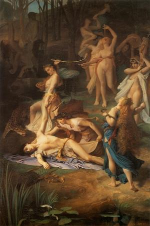 Death of Orpheus, 1866