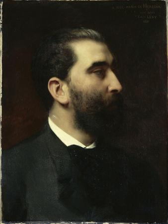 Portrait of Jose-Maria De Heredia (1842-1905), Poet