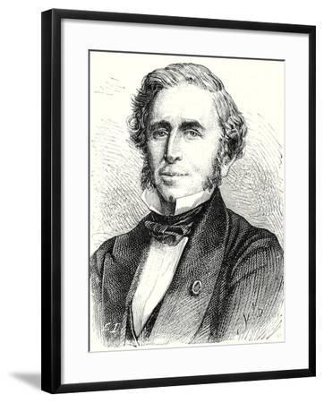 Émile Péreire--Framed Giclee Print