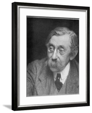 Emile Verhaeren Belgian Writer--Framed Photographic Print