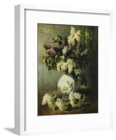Lilac in a Delft Vase, 1895