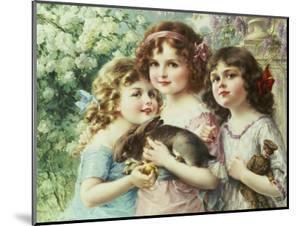 The Three Graces by Emile Vernon