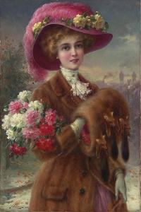 Winter Beauty, 1910 by Emile Vernon