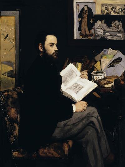 Emile Zola, c.1868-Edouard Manet-Giclee Print