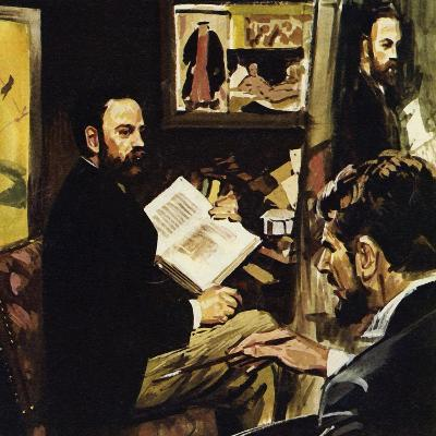 Emile Zola Predicted That Manet's Work Would Hang in the Louvre-Luis Arcas Brauner-Giclee Print