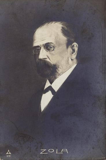 Emile Zola--Giclee Print