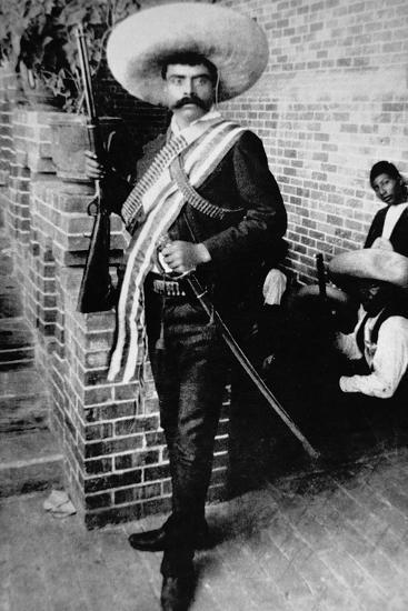 Emiliano Zapata--Photographic Print