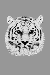 Savane Tiger - Noir by Emilie Ramon