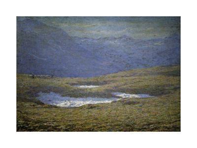 Alpine Landscape, 1890-1910