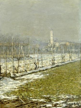 Landscape. Winter Sun, 1891