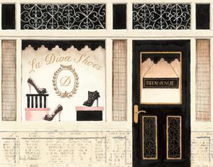 La Diva Shoes by Emily Adams