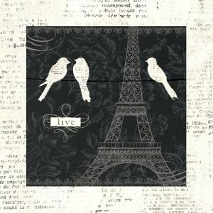 Love Paris I by Emily Adams