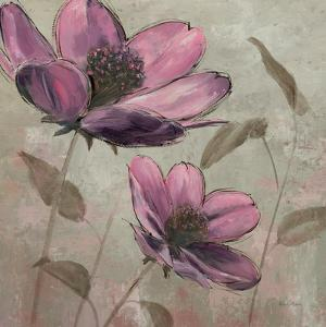 Plum Floral II by Emily Adams