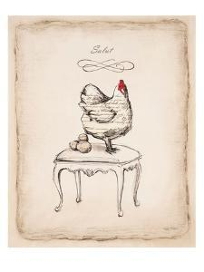 Salud Chick by Emily Adams