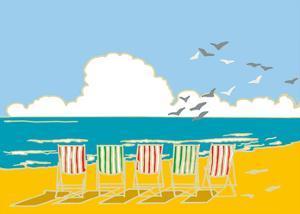 Summer Bay I by Emily Burningham