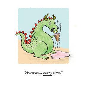 """""""Awwww, every time!"""" - Cartoon by Emily Flake"""