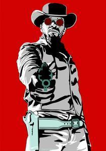 Jamie Foxx - Django by Emily Gray