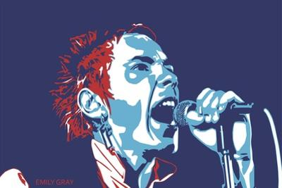 Johnny Rotten - God Save the Queen by Emily Gray