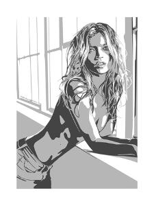 Kate Moss by Emily Gray