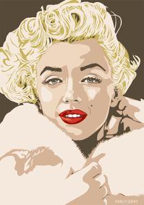18df248cfc Marilyn - Gentlemen Prefer Blondes · Emily Gray. Giclee Print