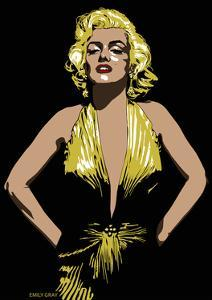 Marilyn - Some Like it Hot by Emily Gray