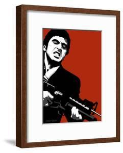 Beautiful Scarface Framed Posters Artwork For Sale Posters And