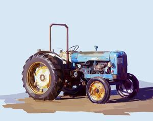 Vintage Tractor I by Emily Kalina