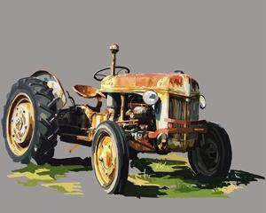 Vintage Tractor II by Emily Kalina