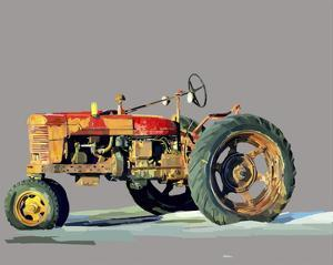 Vintage Tractor III by Emily Kalina