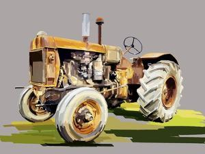 Vintage Tractor IV by Emily Kalina