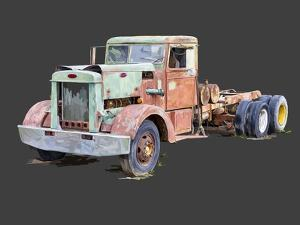 Vintage Truck III by Emily Kalina