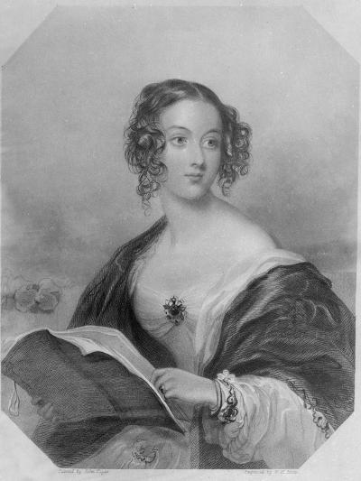 Emily Mary, Countess Cowper-John Hayter-Giclee Print